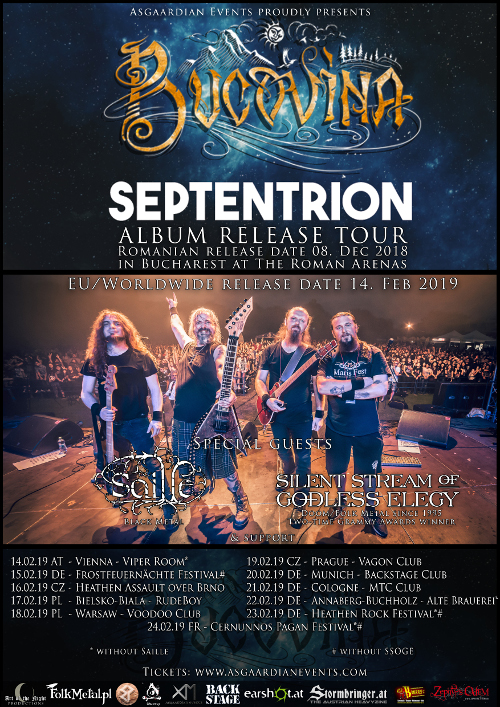 Septentrion album release tour